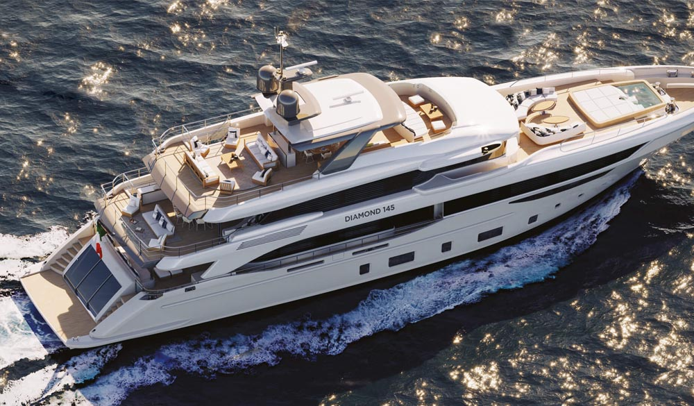 Benetti Ink Yacht Diamond 145