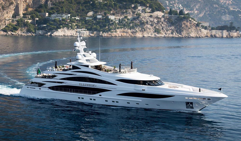 Illusion V superyacht
