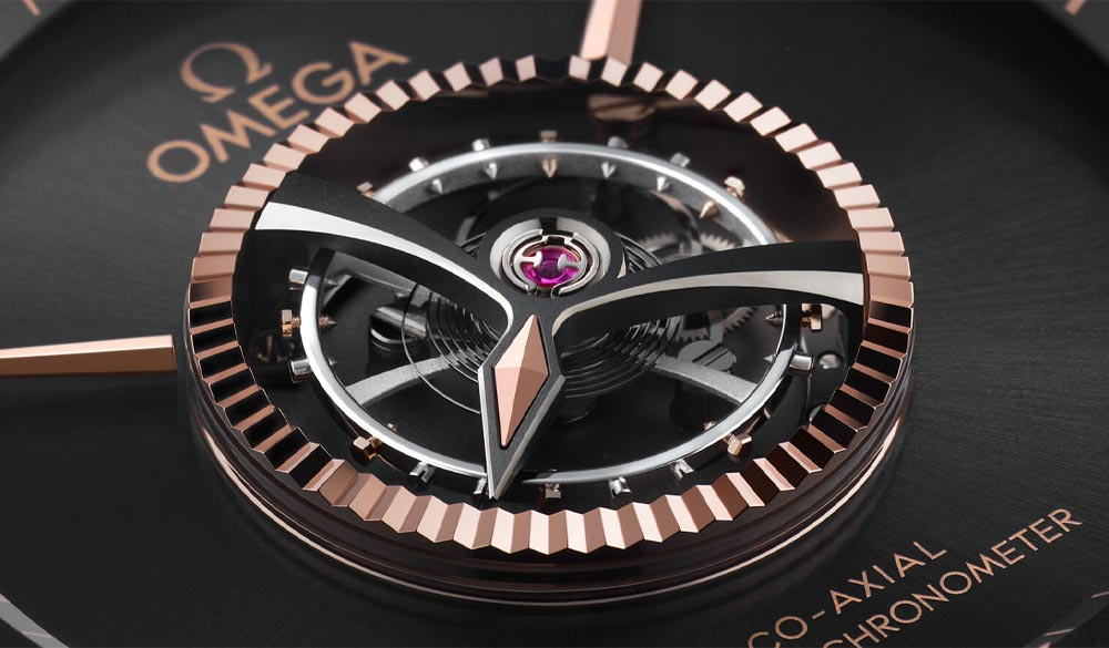 New OMEGA's Antimagnetic Tourbillon