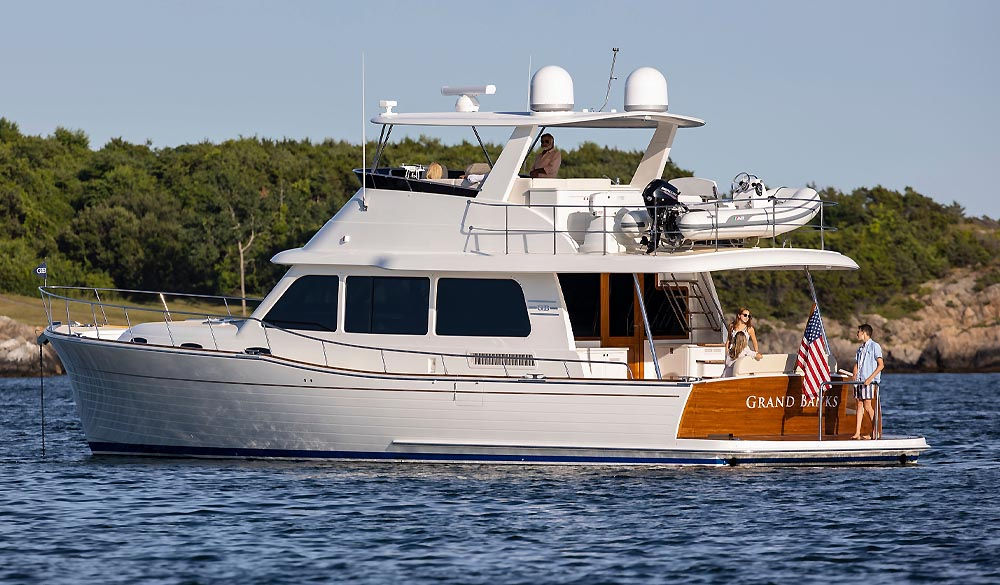 Grand Banks GB54 Yacht